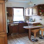 Blick auf die Küchennische